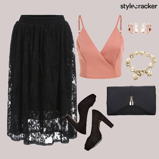 Top Skirt Lace Party - StyleCracker