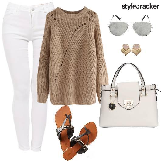 KnitTop CasualDay DayWear WinterFashion - StyleCracker