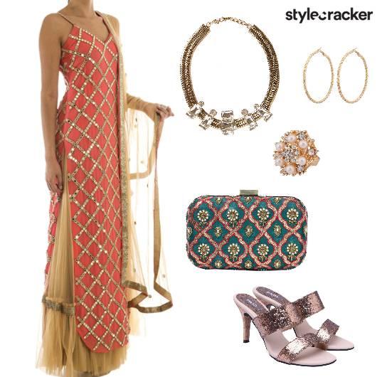Indian Ethnic Wedding Night Party - StyleCracker