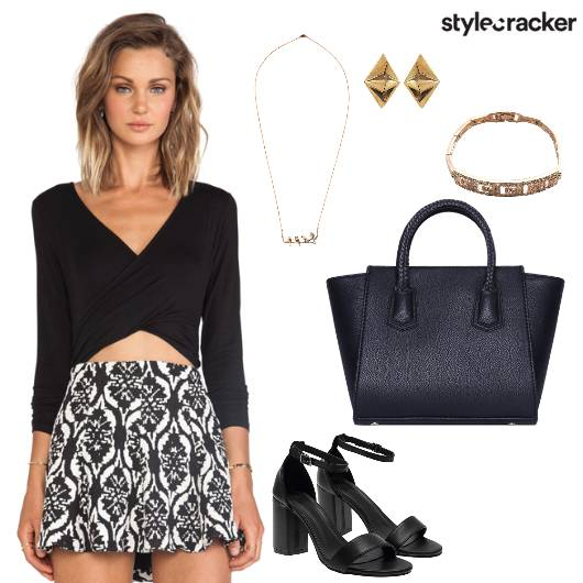 BodySuit Shorts Dinner Party NightWear  - StyleCracker
