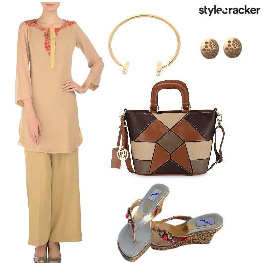Pallazo Twinset Heels Bag - StyleCracker
