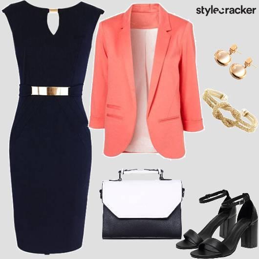 WorkWear Formal BodyConDress Blazer - StyleCracker