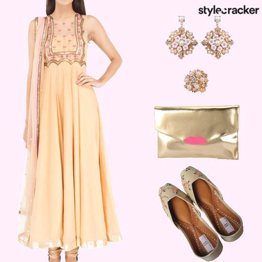 Embroidered Anarkali TraditionalIndian - StyleCracker