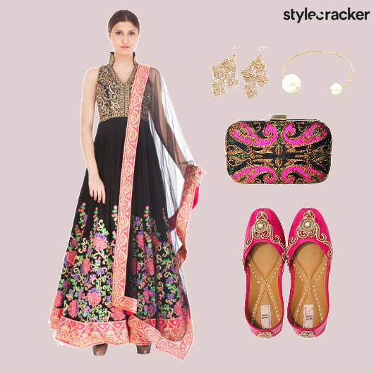 Indian Festive Bridal Floral - StyleCracker