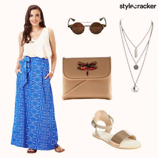 Wraparound Top CrossbodyBag Sandals - StyleCracker