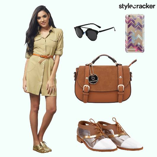 Dress Slingbag Shoes Mobilecover - StyleCracker