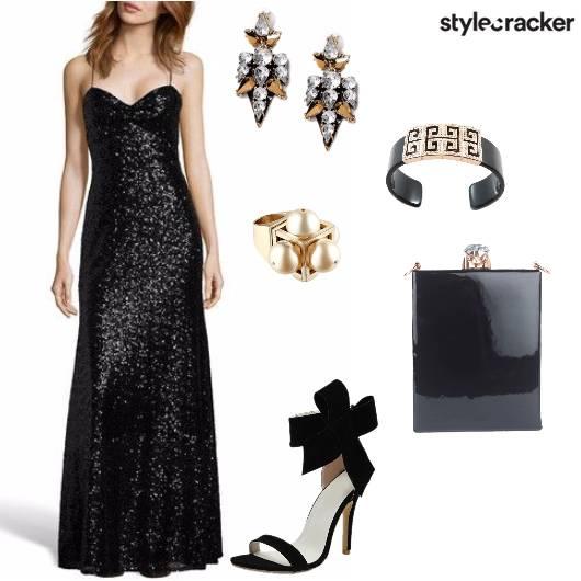 LongDress Sequin Night Party  - StyleCracker