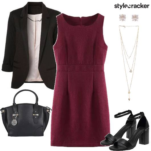 Dress Blazer BlockHeels - StyleCracker