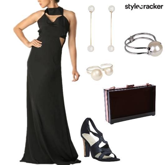 CutOut Dress Party DressedUp - StyleCracker