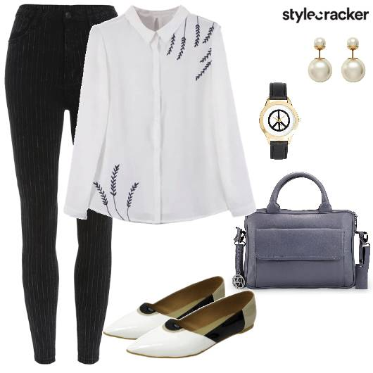 Work Formal Stripes Shirt  - StyleCracker