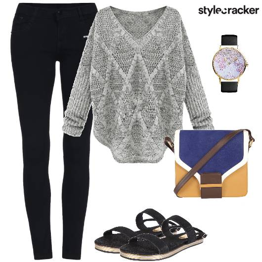 Sweater Jeggings Casual WinterMornings  - StyleCracker