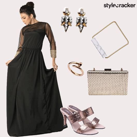 Maxidress Heels Party  - StyleCracker