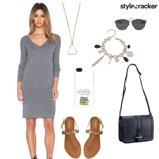 Dress Flats Slingbag Casual - StyleCracker