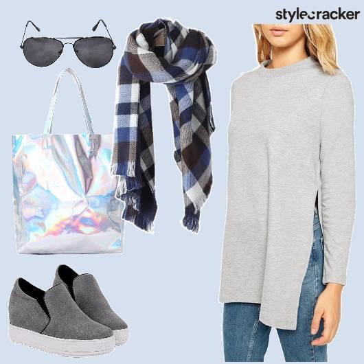 Casual College LongTee Denims - StyleCracker