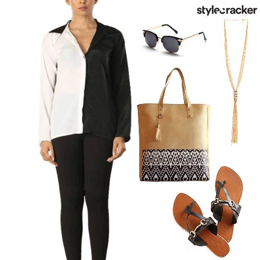 Day Monochrome Shirt - StyleCracker