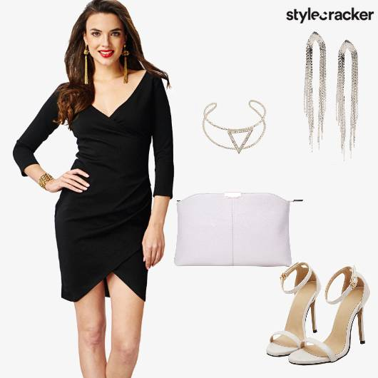 Dress Clutch Stilletos Party - StyleCracker