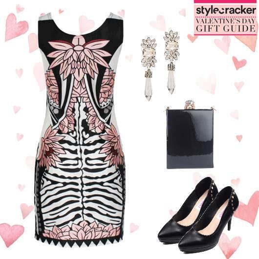 DateNight Printed BodyconDress - StyleCracker