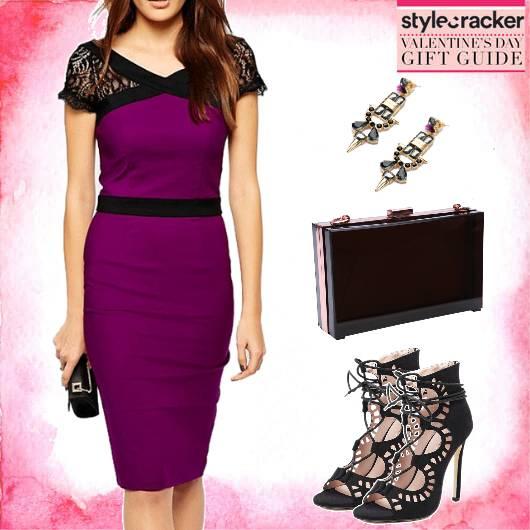 DateNight LaceDetails Dress - StyleCracker