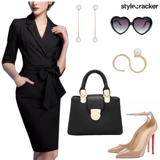 Bow Dress Work Meeting Office - StyleCracker