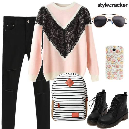Casual College Sweater Denims - StyleCracker
