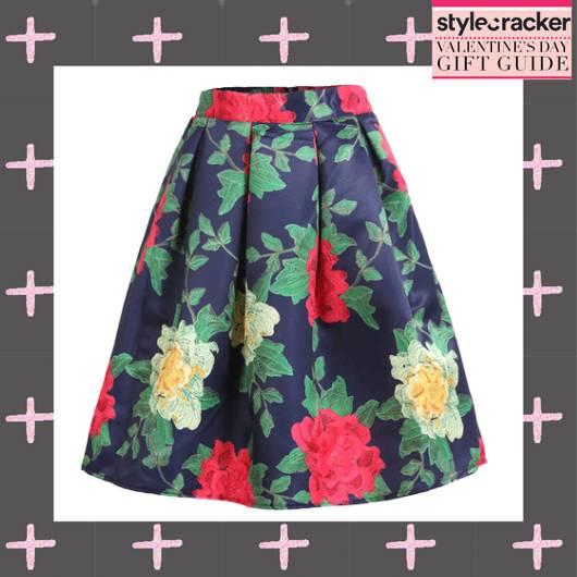 ValentinesGiftingGuide Floral PrintedSkirts - StyleCracker