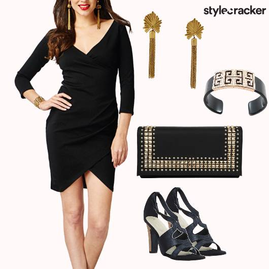 Wrap Dress Party - StyleCracker