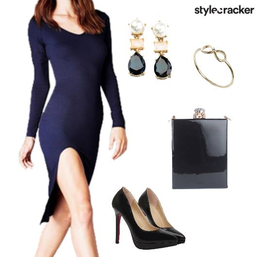 ThighSlit Glam Party  - StyleCracker