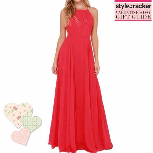 SCLOVES RED GOWN VALENTINEGIFTGUIDE - StyleCracker