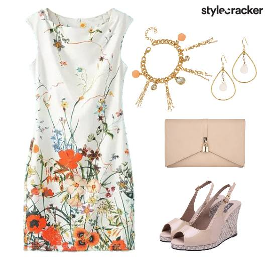 Floral ShiftDress LunchDate - StyleCracker