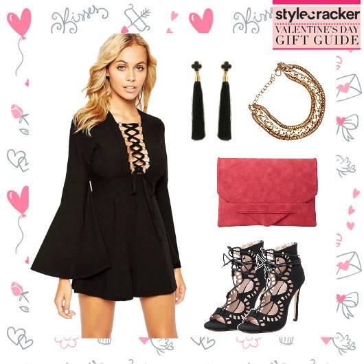 Romper DateNight CorsetHeels ValentinesGiftingGuide - StyleCracker