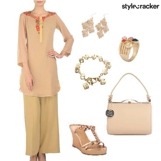 Palazzo Kurta Indian Ethnic - StyleCracker