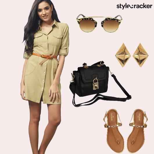 ButtonDown Dress Military Casual  - StyleCracker