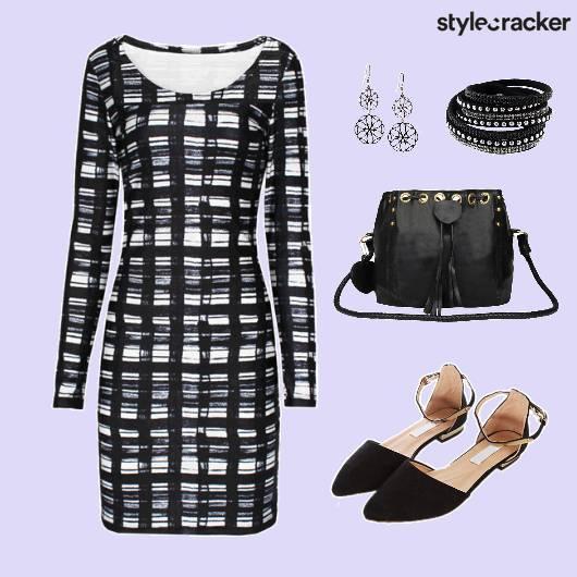 Dress Print Shoes Bag Accessories - StyleCracker