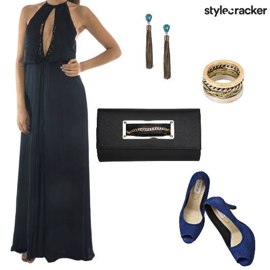 LongDress CutOut Night Party - StyleCracker