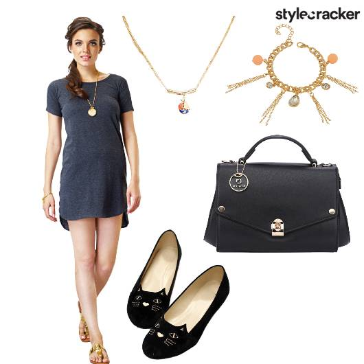 Dress Ballerinas Bag Neckpiece - StyleCracker