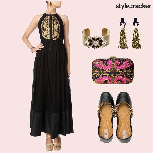 Indian Dress Anarkali Jhootis Accessories - StyleCracker