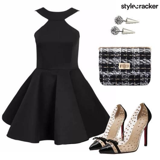 LBD Party Skater  - StyleCracker