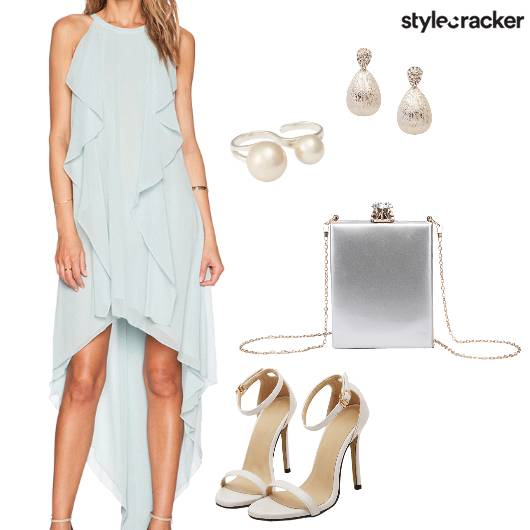 HighLow Dress Night Party  - StyleCracker