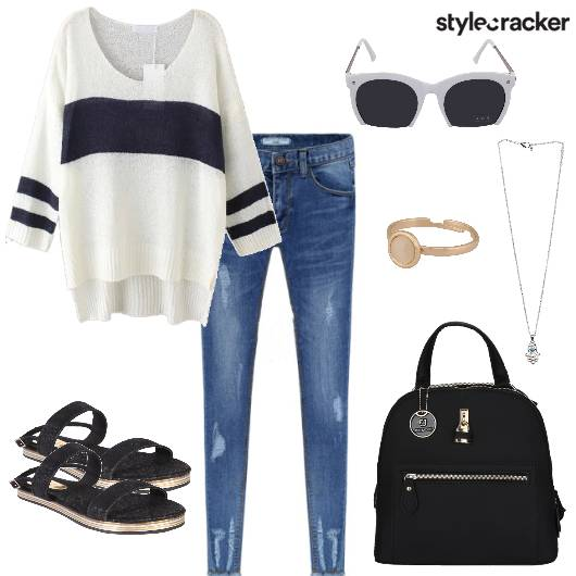 Casual Jeans College Day  - StyleCracker