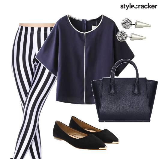 StripedPants Work Minimal - StyleCracker