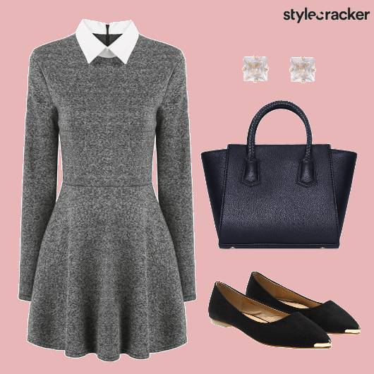 Grey Dress Workwear - StyleCracker