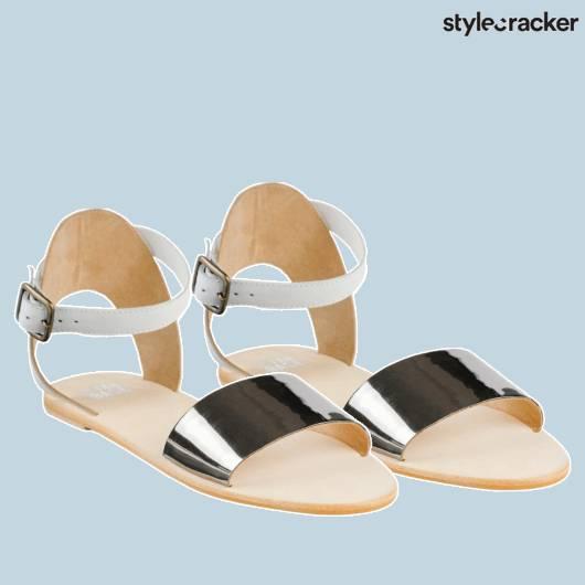 SCLOVES Metallic Flats - StyleCracker