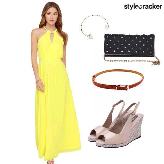 Dress Shoes Clutch Belt Accessories - StyleCracker