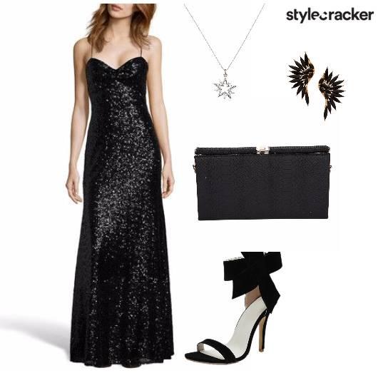 Sequin Gown Night Party  - StyleCracker