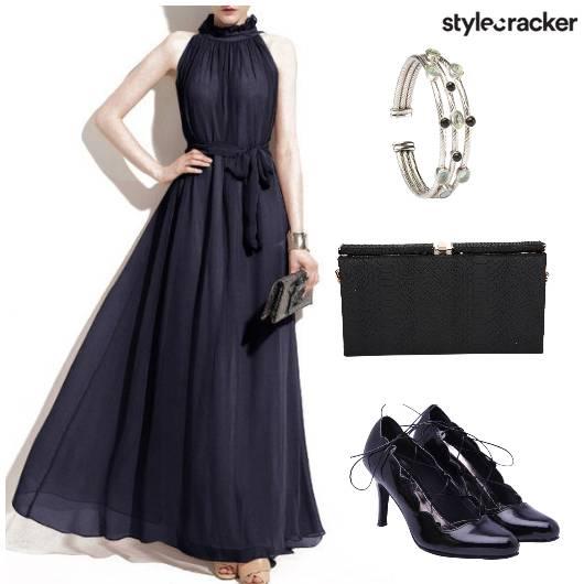 Gown Heels Clutch Cuff - StyleCracker