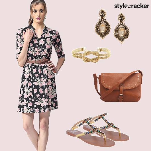 Floral Dress Day Casual  - StyleCracker