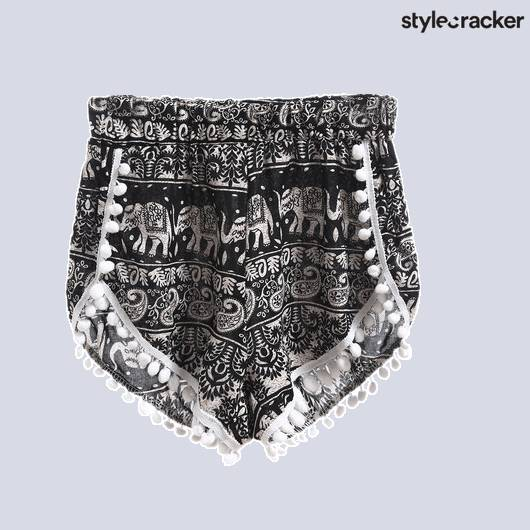 SCLOVES Printed Shorts - StyleCracker
