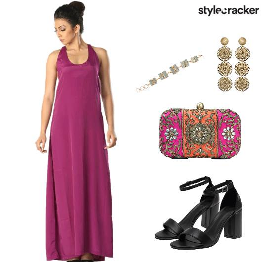 CocktailNight IndianTwist Gown - StyleCracker