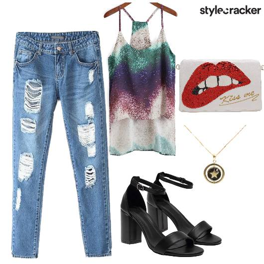 RippedDenims Sling NightOut - StyleCracker