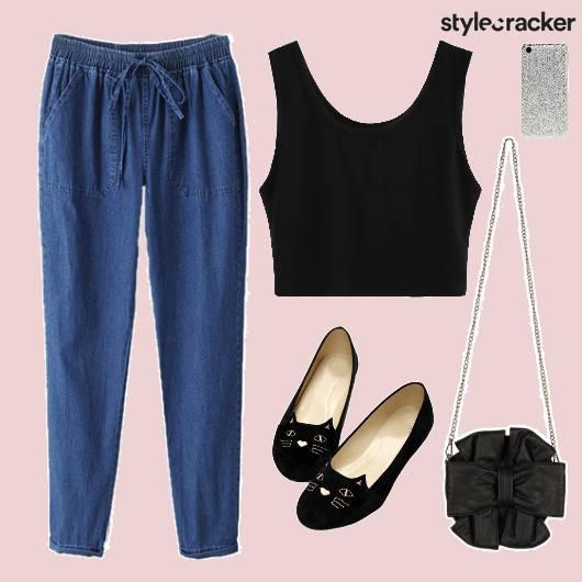 Top Bottom Shoes Bag PhoneCover - StyleCracker